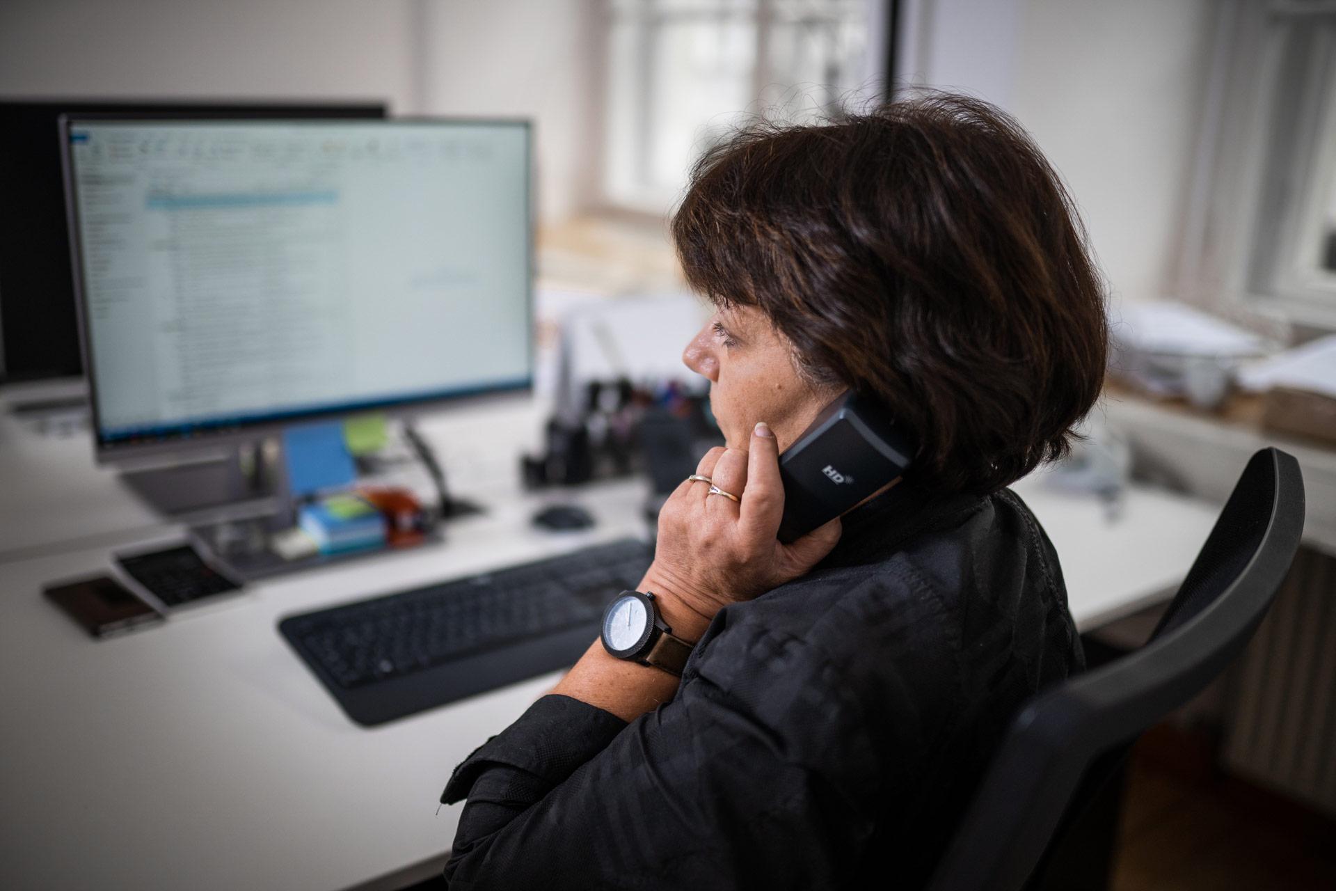ärztliche Behandlungsfehler –Sekretärin telefoniert